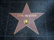 Steve McQueen-` s Stern, Hollywood-Weg des Ruhmes - 11. August 2017 - Hollywood Boulevard, Los Angeles, Kalifornien, CA Lizenzfreie Stockfotos