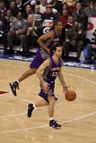 Steve Nash & Grant Hill Royalty Free Stock Images