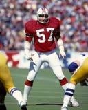 Steve Nelson. New England LB Steve Nelson, #57.  (Image taken from color slide Stock Photography