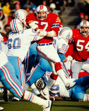 Steve Nelson New England Patriots Royalty Free Stock Image