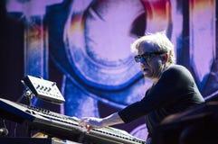 Steve Porcaro from Toto live Stock Image