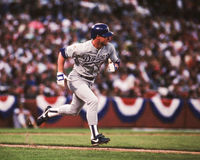 Steve Sax, Los Angeles Dodgers Stock Photo