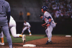 Steve Sax, Los Angeles Dodgers Royalty Free Stock Image