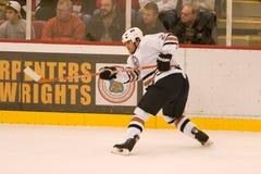 Steve Styaios dos Edmonton Oilers Fotografia de Stock