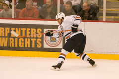 Steve Styaios of The Edmonton Oilers Stock Photography