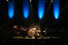 Steve Vai et l'orchestre de tempo d'évolution Images libres de droits