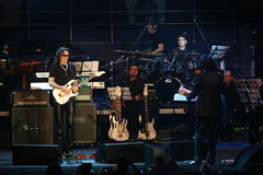 Steve Vai and The Evolution Tempo Orchestra Royalty Free Stock Images