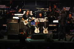 Steve Vai and The Evolution Tempo Orchestra Royalty Free Stock Photography