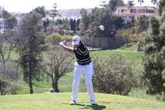 Steve Webster at Andalucia Golf Open, Marbella Royalty Free Stock Photos