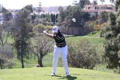 Steve Webster a golf di Andalusia aperto, Marbella Fotografie Stock Libere da Diritti