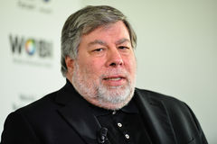 STEVE WOZNIAK - COFOUNDER APPLE COMPUTER stock photo
