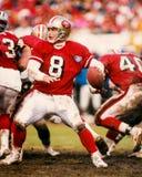 Steve Young San Francisco 49ers Imágenes de archivo libres de regalías