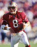 Steve Young. San Francisco 49ers QB Steve Young, #8.  (Image taken from color slide Royalty Free Stock Image