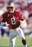 Steve Young. San Francisco 49ers quarterback, Steve Young. image taken from color slide Stock Image