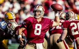 Steve Young San Francisco 49ers Stock Photography