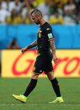 Steven Defour Coupe du monde 2014 Fotos de Stock Royalty Free