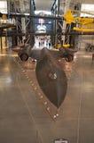 Steven F Aire de Smithsonian y anexo nacionales Udvar-nebulosos del museo espacial Fotografía de archivo libre de regalías