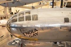 Steven F Aire de Smithsonian y anexo nacionales Udvar-nebulosos del museo espacial Fotos de archivo libres de regalías