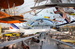 Steven F. Udvar-Hazy Center Royalty Free Stock Photography
