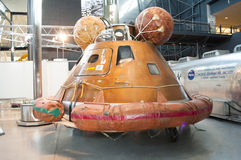 Steven F. Udvar-Hazy Smithsonian National Air and Space Museum Annex royalty free stock photo