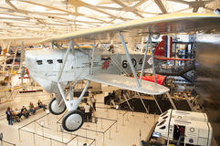 Steven F. Udvar-Hazy Smithsonian National Air and Space Museum Annex Royalty Free Stock Photos