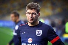 Steven Gerrard της Αγγλίας Στοκ εικόνες με δικαίωμα ελεύθερης χρήσης