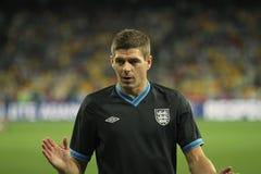 Steven Gerrard Fotografie Stock