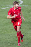 Steven Gerrard Royalty Free Stock Photo