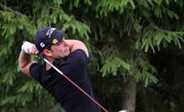 Steven Kattenhorn bij het golf Prevens Trpohee 2009 Royalty-vrije Stock Afbeeldingen