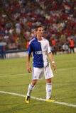 Steven Lang. During Steaua Bucharest - Grasshopper Club Zurich match Stock Photography