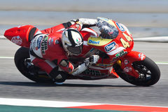 Steven Odendaal, Moto2 Montmelo Royalty Free Stock Image