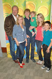 Steven Perry,Bridgit Mendler,Eric ALLAN Kramer,Jason Dolley Royalty Free Stock Photos