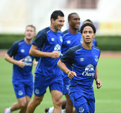 STEVEN PIENAAR of Everton Royalty Free Stock Photos