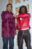 Steven Seagal,Wyclef Jean Royalty Free Stock Photos