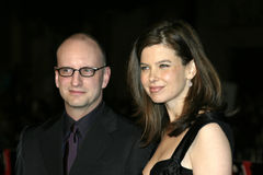 Steven Soderbergh and Jules Asner Stock Photos