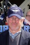 Steven Spielberg à la première mondiale des studios universels Hollywood   Image libre de droits