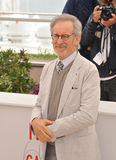 Steven Spielberg. CANNES, FRANCE - MAY 15, 2013: Cannes Jury President Steven Spielberg at the photocall for the Jury of the 66th Festival de Cannes royalty free stock photography