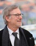 Steven Spielberg deltar i ` BFGEN Le Bon Gros Geant - Le BGG `, arkivfoton
