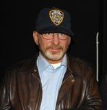 Steven Spielberg en señora Tussaud Imagenes de archivo