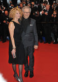 Steven Spielberg & Kate Capshaw Royalty Free Stock Images