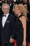 Steven Spielberg & Kate Capshaw Stock Photos
