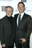 Steven Spielberg, Tom Hanks. Steven Spielberg and Tom Hanks at the 14th Annual Saks Fifth Avenue's 'Unforgettable Evening' benefiting the Entertainment Industry Royalty Free Stock Photography