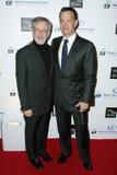 Steven Spielberg, Tom Hanks Stock Photo