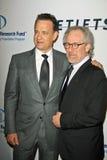 Steven Spielberg,Tom Hanks Royalty Free Stock Images
