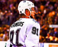 Steven Stamkos Tampa Bay Lightning Royalty Free Stock Photos