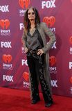 Steven Tyler. At the 2019 iHeartRadio Music Awards held at the Microsoft Theater in Los Angeles, USA on March 14, 2019 royalty free stock photography