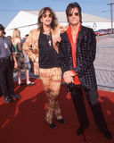 Steven Tyler and Joe Perry. Stock Image