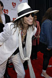 Steven Tyler on the red carpet. Steven Tyler of Aerosmith at the 4th Annual Musicares MAPfund Benefit Concert at the Henry Fonda Music Box Theatre in Hollywood Royalty Free Stock Image