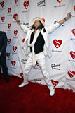 Steven Tyler on the red carpet Stock Images