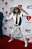 Steven Tyler on the red carpet. Steven Tyler of Aerosmith at the 4th Annual Musicares MAPfund Benefit Concert at the Henry Fonda Music Box Theatre in Hollywood stock image